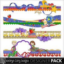 Kindergarten Borders Clip Art Kindergarten Kisses Borders Kathryn Boys Friends