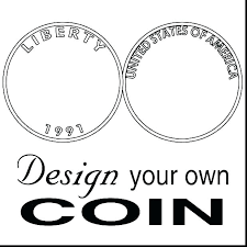 Money Coloring Page Money Coloring Pages Page Fake Coin Of Color