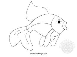 Pesce Da Colorare Per Bambini Tuttodisegnicom