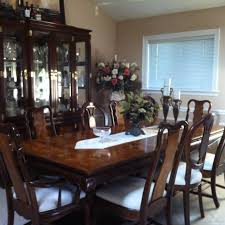 solid cherry dining table room set more wood and gany 9 graceful