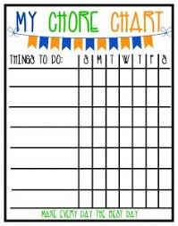 Wipe Off Chore Chart Keep Your Family Healthy With A Clean Home And Free Kids