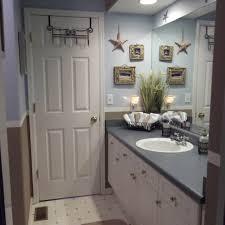Nautical Bathroom Decorations Beach Bathroom Decor Free Image