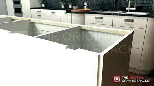 granite countertop overhang support granite overhang support requirements granite overhang granite countertop overhang support bracket