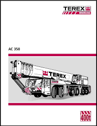 Terex Demag Ac 350 Chart Lettering
