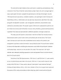 quantitative research article critique 8