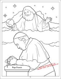 pope francis coloring and activity book