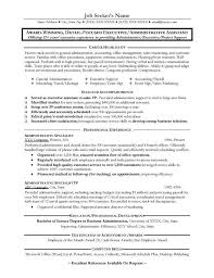 Objective Statement For Administrative Assistant Resume Great Administrative Assistant Resumes Administrative