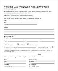 work order maintenance request form template maintenance request form template sh work order primary portrait