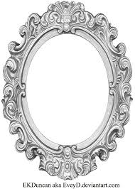 oval filigree frame tattoo. Ornate Oval Frame Drawing Filigree Tattoo A