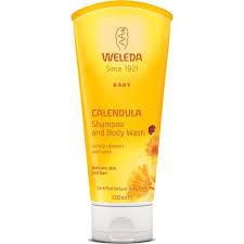 WELEDA - Calendula Shampoo <b>and</b> Body Wash Travel Size - 0.68 fl ...