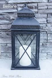 outdoor lantern lighting. Decorate An Outdoor Lantern For Spring With These Easy Decor Ideas Lighting R