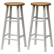 cheap wooden bar stools. Tall Round White Wood Bar Stools Cheap Wooden