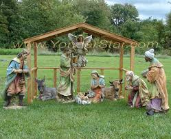 amazing outdoor nativity sets scene with wooden manger jpg c imbypass on sofa stunning outdoor nativity sets