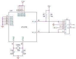 how to interface ps 2 lpc2148 arm7 development board circuit diagram to interface ps 2 lpc2148