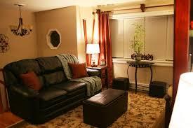 Burnt Orange And Brown Living Room Property Unique Design Ideas