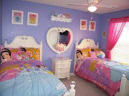 disney princesses themed bedroom