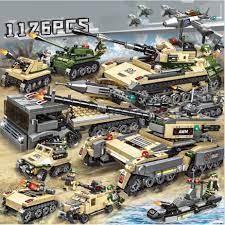 1126 CHI TIẾT-HÀNG CHUẨN] BỘ ĐỒ CHƠI Lắp Ghép Lego XE TĂNG, XE BỌC THÉP, XE  PHÁO, Đồ chơi lắp ráp oto