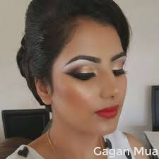 wedding hair and makeup artist luxury professional asian indian bridal or party hair makeup and