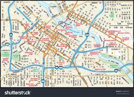 popular  list st paul skyway map