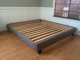 platform bed no headboard ideas including shop beds at picture