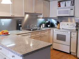 Small Picture Kitchen White Island Gray Countertop AIRMAXTN