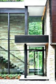 modern glass front door canopy entry doors contemporary designs neutral gla