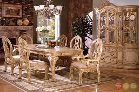 Briliant COF Traditional Formal Dining Table Set Table - Traditional dining room set
