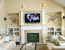 mounting a tv above a gas fireplace above gas fireplace part mounting above fireplace hiding wires mounting a tv above a gas fireplace
