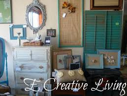Small Picture E Creative Living New Painted Furniture and Home Decor Booth