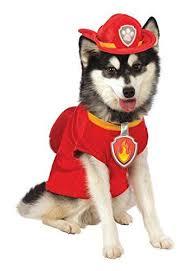 Paw Patrol Marshall Dog Costume Pet Costumes Paw Patrol