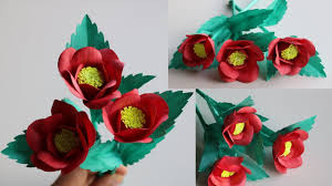 How To Make A Beautiful Flower With Paper How To Make Beautiful Flowers With Papers Diy Handmade Paper Craft