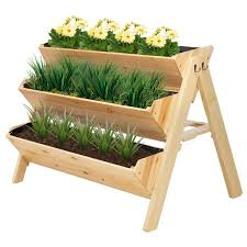 raised garden bed with