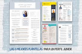 15 plantillas de currículum para descargar gratis. Curriculum Vitae Para Rellenar 50 Plantillas Visuales Y Faciles De Editar