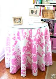 inch round table cloth topper how to make a tablecloth tutorial 20 decorative