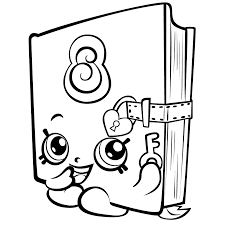 8 Coloring Free Pages Shopkins Coloring Pages Best Coloring Pages