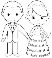 Personalized Coloring Pages Wedding Carriembeckerme