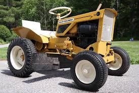 each tractor company had colors they were famous for ford was blue allis chalmers yellow cub cadet yellow wheel horse red and of course john deere
