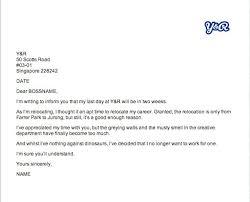 Official Resignation Letter Impressive A Resignation Letter Template Worldwidejibaroco