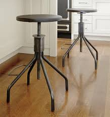 Image of: Industrial Metal Counter Height Stools
