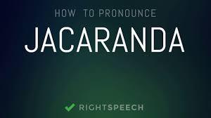 Jacaranda How To Pronounce Jacaranda