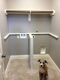 laundry room countertop how to install over washer and dryer laundry room countertop support