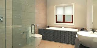 recessed bathroom lighting. Bathroom Lighting Recessed Ceiling Lights Glass Shower Door And Gray Tub With Black Vanity .