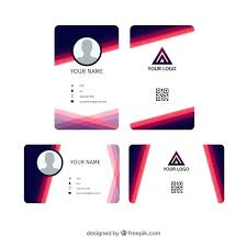 Free Id Badge Template Office Identity Card Free Print Template Free Id Template Free Id