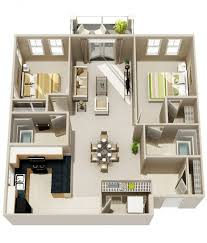 Apartments In Indianapolis  Floor PlansApartments Floor Plans 2 Bedrooms
