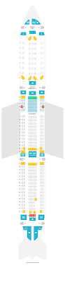 Delta Airbus A330 300 Seating Chart Seat Map Airbus A330 300 333 Delta Air Lines Find The