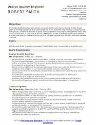 Resume Format For Quality Engineer Quality Engineer Resume Samples Qwikresume