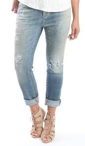 Dear John Kingston Madison Patch Girlfriend Jeans