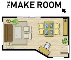 This free web program lets you create floor plans using their premade  layouts, or start from scratch using your own room dimensions.