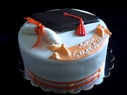 One Sweet Treat Graduation Cake