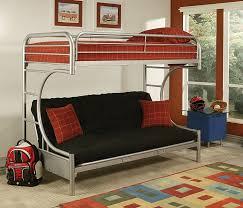 Amazon.com: ACME Furniture 02093SI Eclipse Futon Bunk Bed, Twin X ...